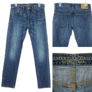 AMERICAN EAGLE Denim Jeans Slim Fit Mid Rise